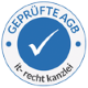 Geprüfte AGB – IT-Recht Kanzlei