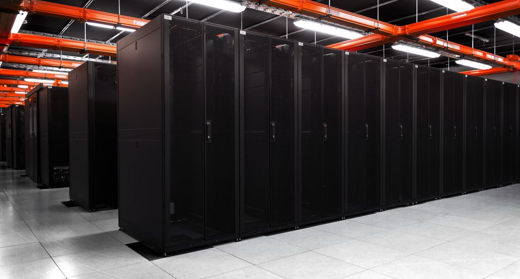 Hostingwerft-Serverraum